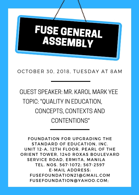 FUSE Upcoming Events
