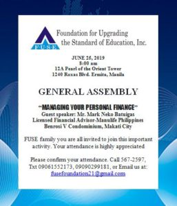 Foundation for Upgrading the Standard of Education, Inc